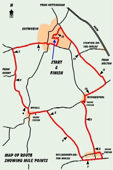 Turkey Trot Route